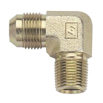 -8 TO 3/8 NPT 90 DEGREE ADAPTER STAINLESS STEEL