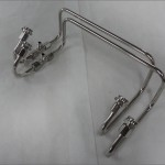 4500 DOMINATOR STAINLESS FUEL LINE KIT SIDE SADDLE
